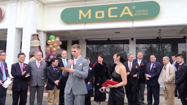 Moca Asian Woodbury Opening Party